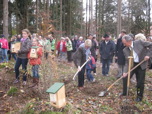 Waldpark-Geretsried Einweihung Nov. 2012