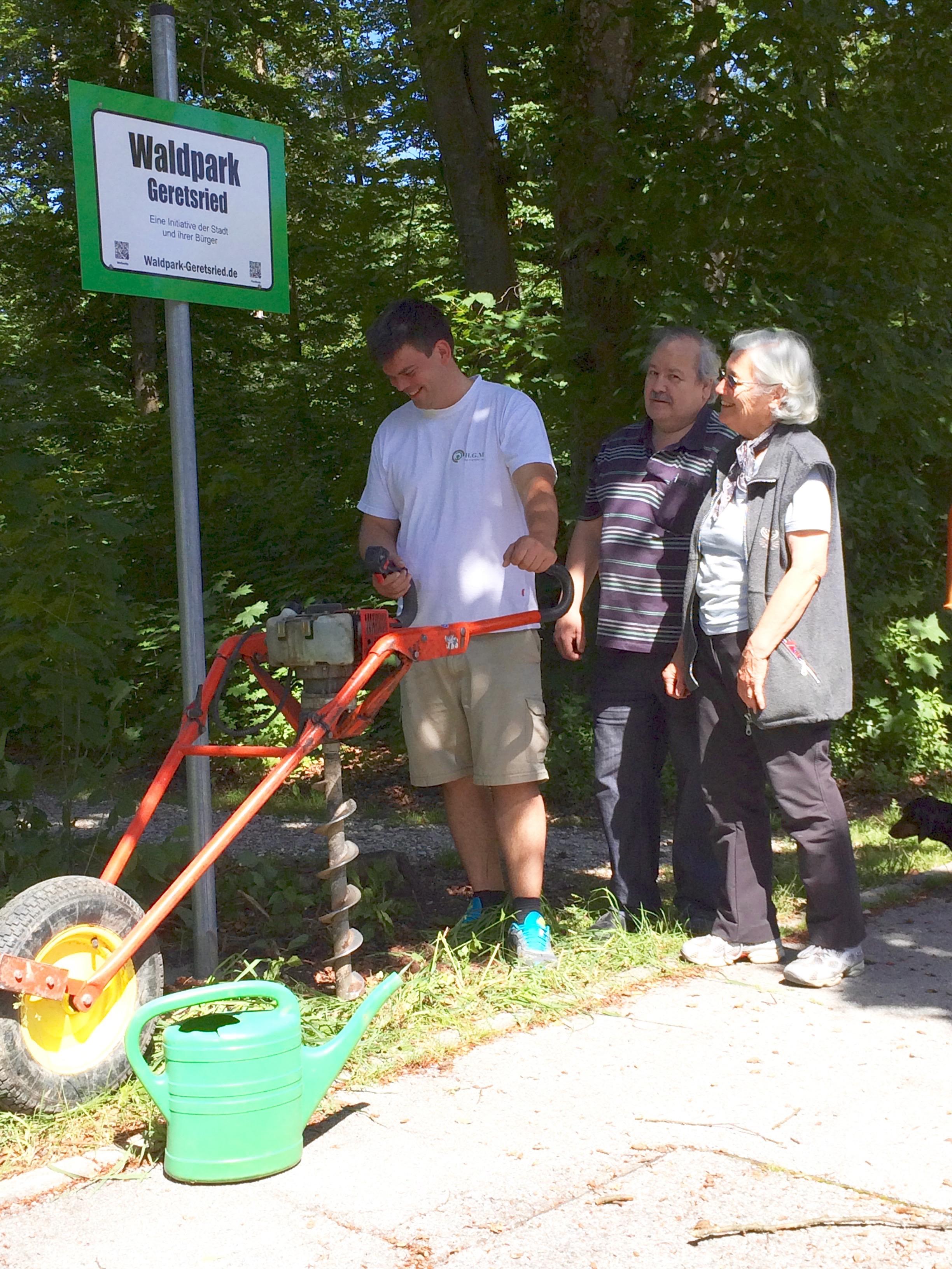 (C) Interessengemeinschaft Waldpark Geretsried